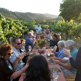 Amista Winemaker Dinner in the Vineyard