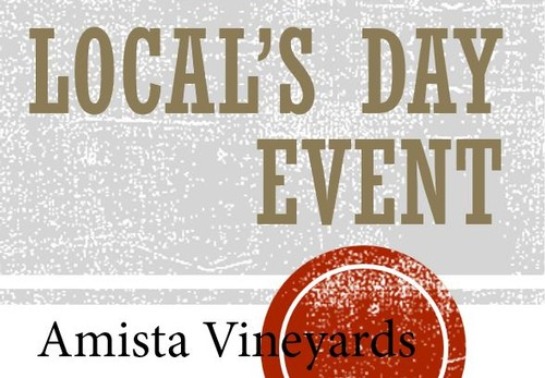 Amista Vineyards - Local's Day