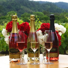 Amista Vineyards Estate Sparkling Wine Flight