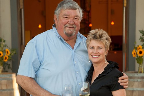 Amista Vineyards Owners Mike and Vicky Farrow