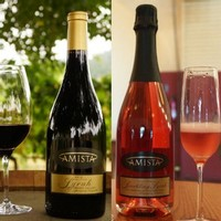 Amista Vineyards Syrah and Sparkling Syrah