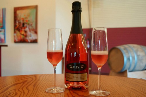 Amista Vineyards Sparkling Syrah