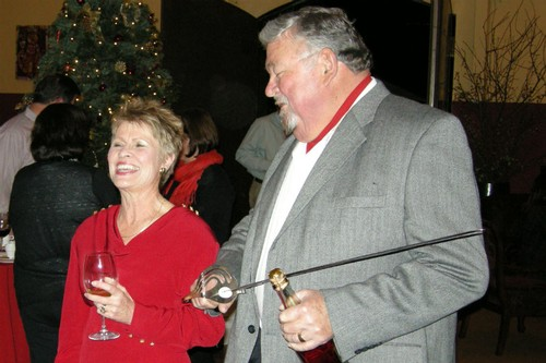 Amista Vineyards Proprietors Vicky and Mike