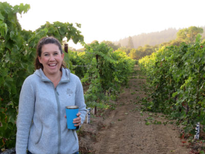 Amista Vineyards Winemaker, Ashley