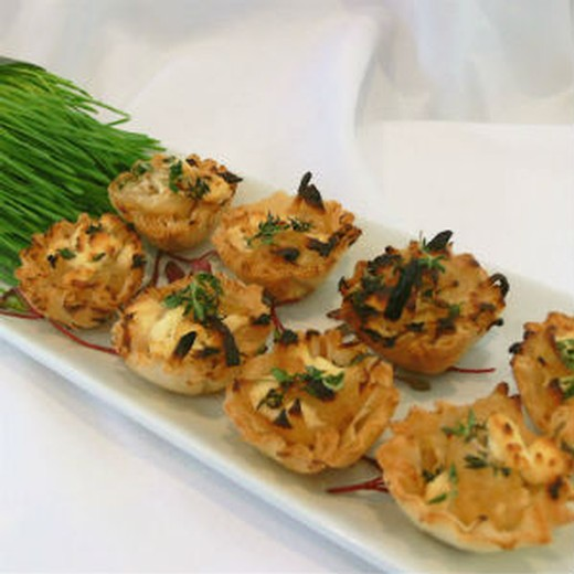 Chef Shari's Curried Chicken Tartlets