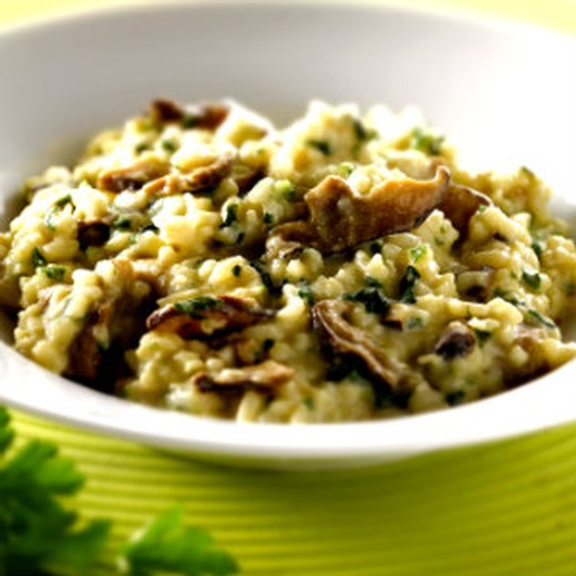 Mike's Mushroom & Asparagus Risotto