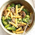 Sausage, Broccoli and Rigatoni