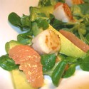 Hallie's Seared Scallop & Grapefruit Salad