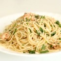 Mike's Shrimp in Lemon Butter Sauce with Linguine